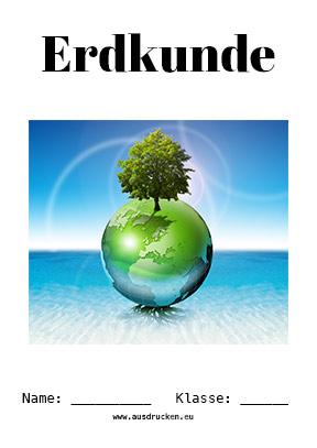 Erdkunde Deckblatt Klima