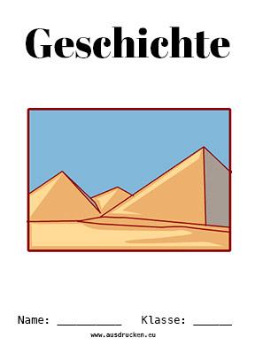 Geschichte Deckblatt Aegypten