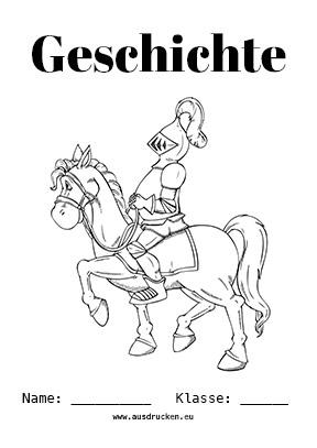 Geschichte Deckblatt Mittelalter