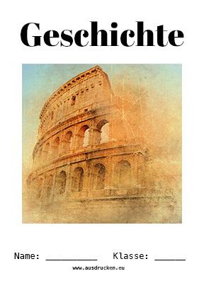 Geschichte Deckblatt Rom