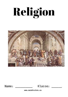 Religion Deckblatt Jesus