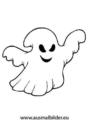 Halloween Gespenst Halloween Ausdrucken