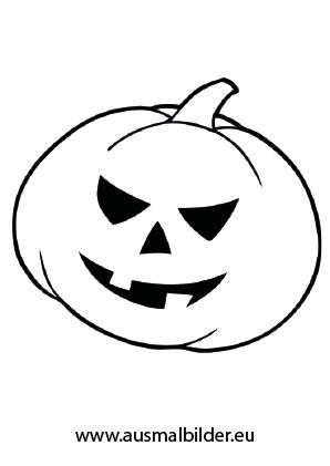 Kürbis Halloween Halloween Ausdrucken