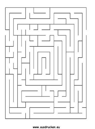 Labyrinthvorlage zum thema labyrinth spiele und labyrinthvorlagen