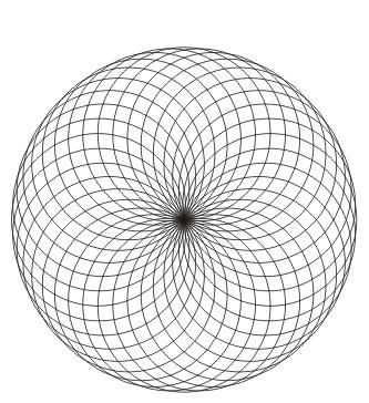 Mandala Kreise zum ausdrucken