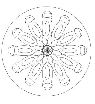 Ausmalbilder mandala zum ausdrucken