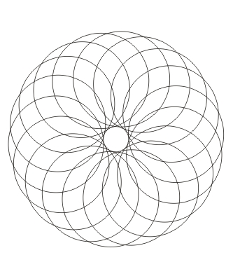 Mandala anmalen zum ausdrucken