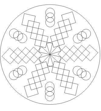 Mandala drucken zum ausdrucken
