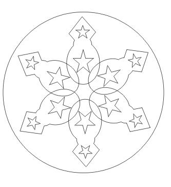 Mandala malen zum ausdrucken