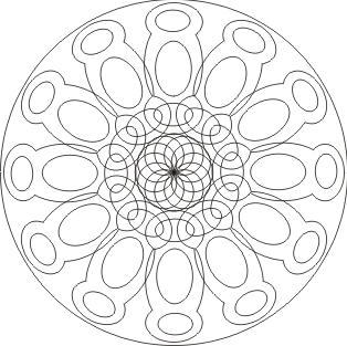 Mandala zum ausdrucken zum ausdrucken