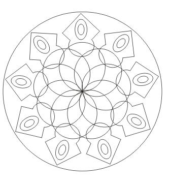 Mandala zum ausmalen zum ausdrucken