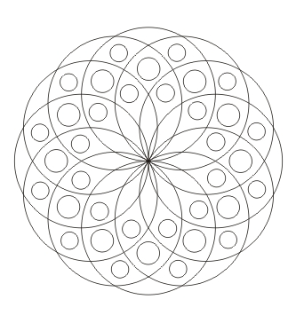 Mandalavorlage zum ausdrucken