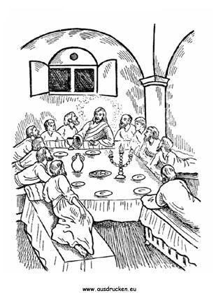 ausmalbilder ostern - ausmalbild ostern jesus 02