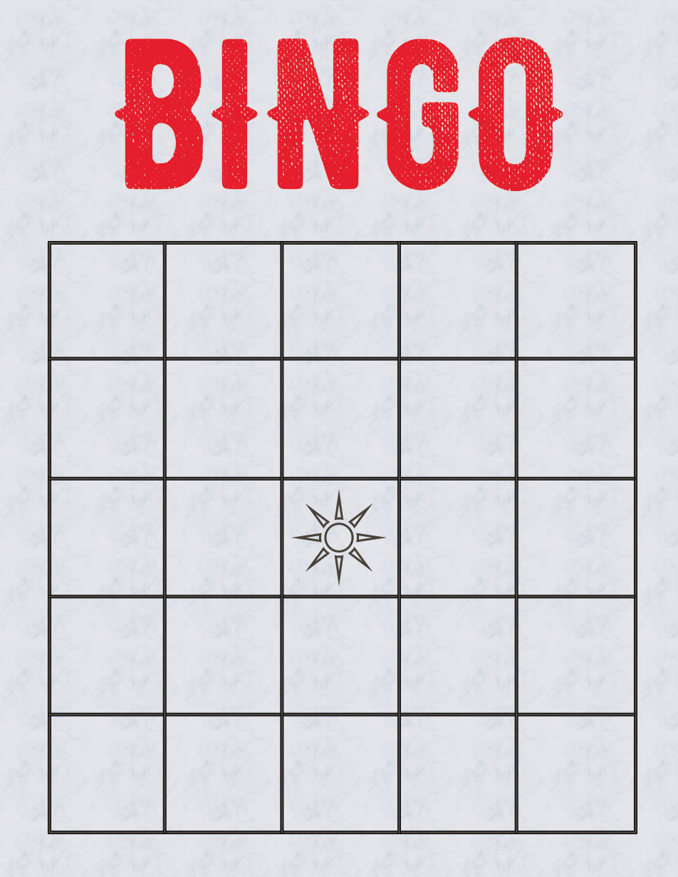 Bingo Zettel