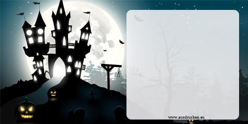 Halloween Karten   Halloween Ausdrucken von Vorlagen