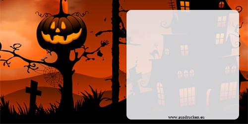 halloween karten halloween ausdrucken von vorlagen. Black Bedroom Furniture Sets. Home Design Ideas