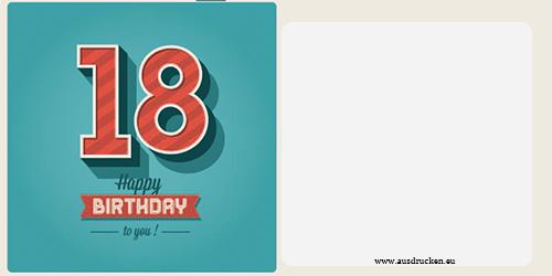 Geburtstagskarten mit Zahlen | Geburtstagskarten mit Zahlen ...