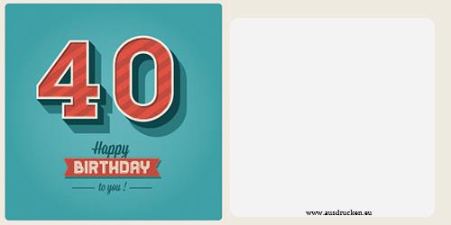 Geburtstagskarten mit Zahlen | Geburtstagskarten mit Zahlen Ausdrucken von Vorlagen