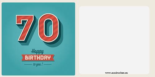 Geburtstagskarten mit Zahlen : Geburtstagskarten mit Zahlen Ausdrucken von Vorlagen