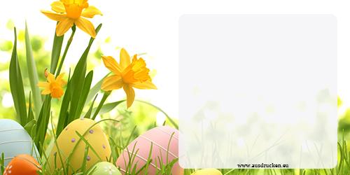 Grußkarten Ostern | Grußkarten Ostern Ausdrucken von Vorlagen
