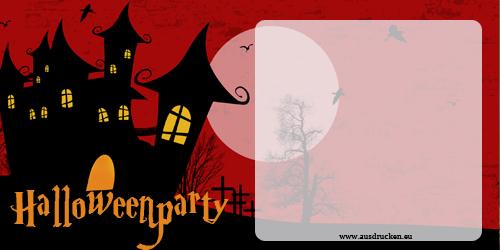 halloween karten einladungen | halloween einladungen ausdrucken, Einladung