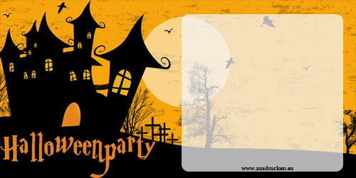 halloween karten einladungen halloween einladungen ausdrucken von vorlagen. Black Bedroom Furniture Sets. Home Design Ideas