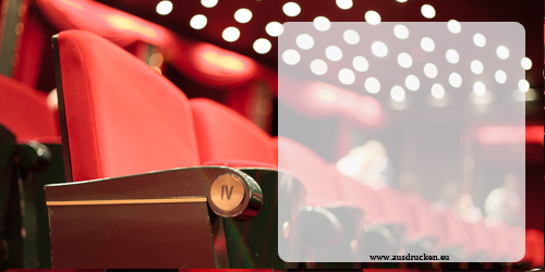 Kinogutschein | Kinogutschein Ausdrucken von Vorlagen