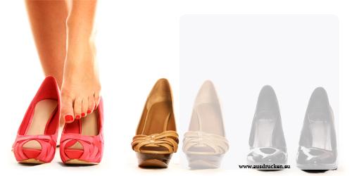 Gutscheine Schuhe Ausdrucken