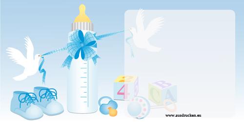 Einladungskarten für die Taufe | Einladungen Taufe Ausdrucken von Vorlagen