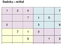 Sudoku drucken